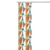Arvidssons Textil Kitty Panelgardin Orange/Turkos