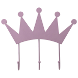 Krona Hängare Rosa