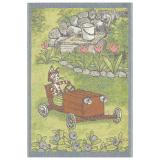 Lådbil Barnfilt Pettson & Findus Multi