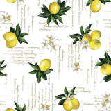Lemon Vaxduk Gul