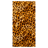 Leopardmönster Badlakan Brun
