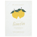 Limon Kökshandduk Gul