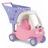 Little Tikes Shoppingvagn Cozy Coupe Rosa