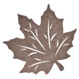 Lönn Löv Bordstablett Beige