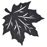 Lönn Löv Bordstablett Mörkgrå