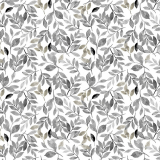 Löv Textilvaxduk Grå