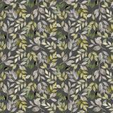 Löv Textilvaxduk Grön