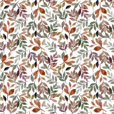 Löv Textilvaxduk Multi