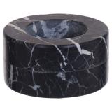Marble Ljushållare Svart
