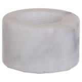 Marble Ljushållare Vit