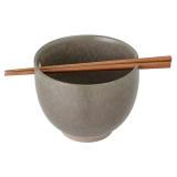 Masami Skål med Ätpinnar Grön