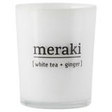 Meraki Doftljus White Tea & Ginger