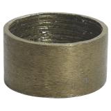 Metallring E27 Råmässing