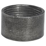 Metallring E27 Råsilver