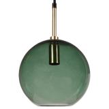 Milla Fönsterlampa Grön/Guld