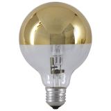 Mirror Globe Halogenlampa Guld