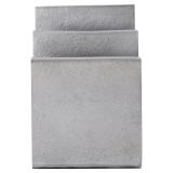 Mono Brevställ Borstat Silver