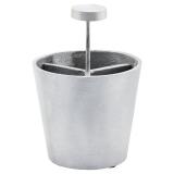 Mono Pennställ Borstat Silver