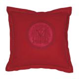 Monogram Kuddfodral Röd
