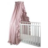 NG Baby Mood Ruffle Sänghimmel Rosa