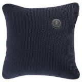 Moss Knit Stickat Kuddfodral Marin