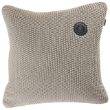 Moss Knit Stickat Kuddfodral Sand