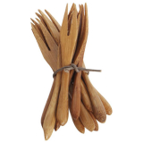 Natur Gaffel Bambu Liten 12-pack