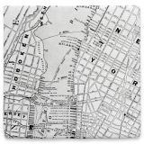 New York Servett Karta