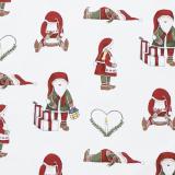 Nissar Textilvaxduk Vit