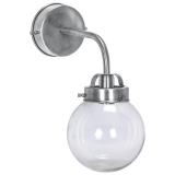 Normandy Vägglampa Antiksilver