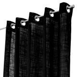 Arvidssons Textil Norrsken Öljettlängd Svart