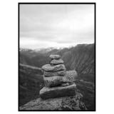 Norways Stones Poster