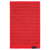 Novalie Rand Handduk Röd