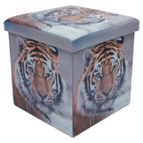 Sovtex Pall med Förvaring Tiger