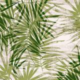 Palmmönster Vaxduk Grön
