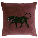 Panther Kuddfodral Sammet Vinröd