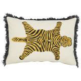 Panthera Tigris Kuddfodral Tiger Vit