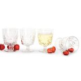 Picknick Glas Plast 4-Pack