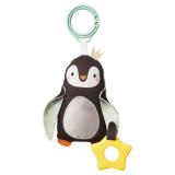 Pingvin Bitleksak med Skallra Svart
