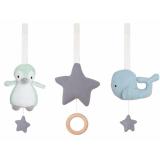 Pingvin Leksaker Babygym Blå 3-Pack