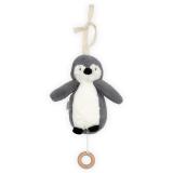 Pingvin Speldosa Grå