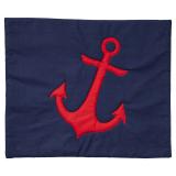 Quilted Anchor Kuddfodral Marinblå/Röd