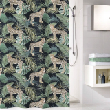 Safari Duschdraperi Grön