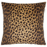 Safari Stor Leopard Kuddfodral 60x60 Brun