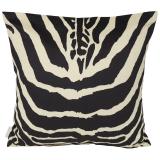 Safari Zebra Kuddfodral Svart/Vit