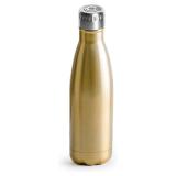Sagaform Vattenflaska med Högtalare Guld