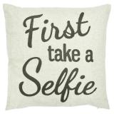Selfie Kuddfodral Linne