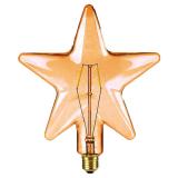Shaped LED Filament Stjärna Amber