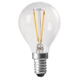 Shine LED-lampa Clear Klot E14