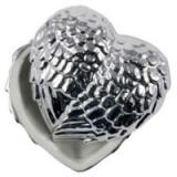 Silverhjärta Skrin Porslin
